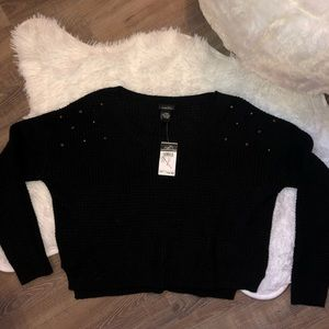 CROPPED SWEATER 🖤